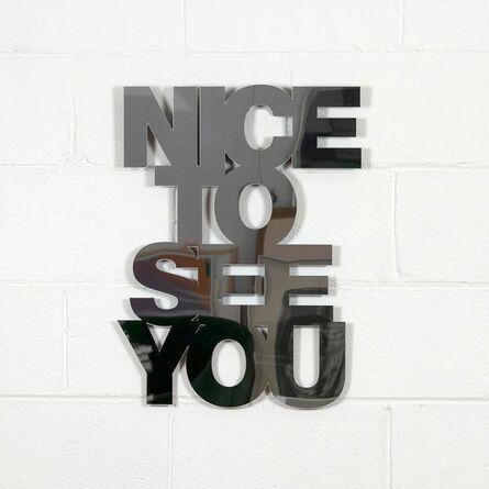 Jade Rude, 'Nice to see you', 2018