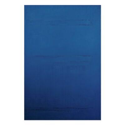 Jeff Kellar, 'Lined Space Blue 2', 2020