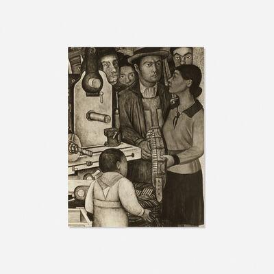 Tina Modotti, 'Detail of The Arsenal by Diego Rivera', c. 1928