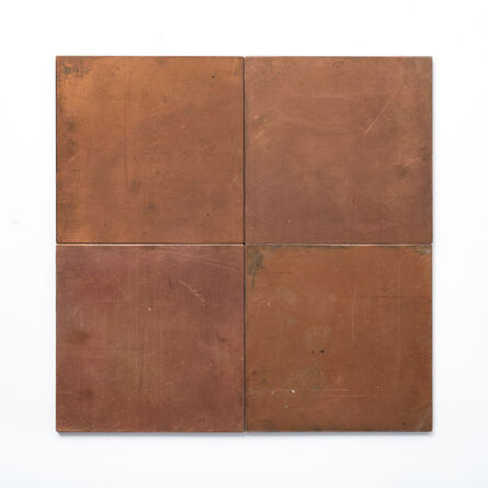 Carl Andre, '4 Units Square', 1976