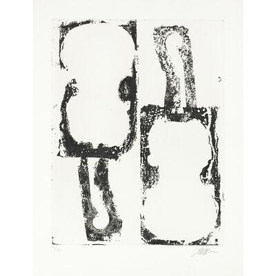 Arman, 'Noir et blanc ', 1989