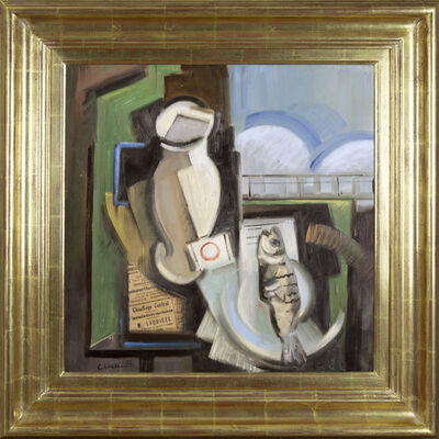 Claude Lacaze, 'Still Life with Fish', 20th century