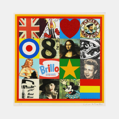 Peter Blake, 'Some of the Sources of Pop Art V', 2007