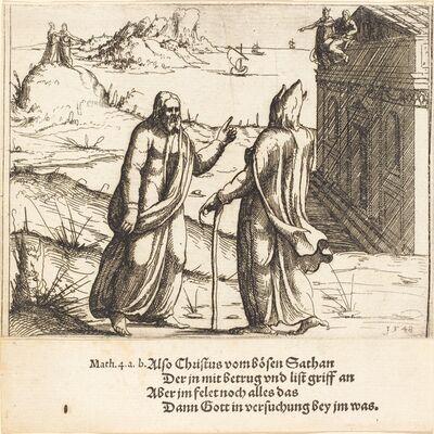 Augustin Hirschvogel, 'The Temptation of Christ', 1548