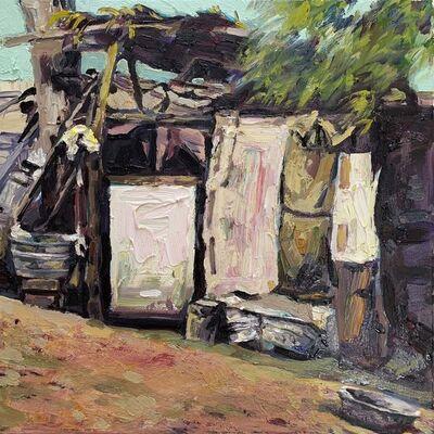 Hung Liu 刘虹, 'Duster Shack 12', 2019