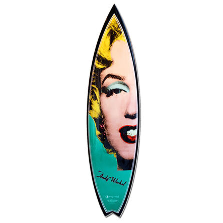 Andy Warhol, 'Marilyn Swallowtail Surfboard', 2015-2019