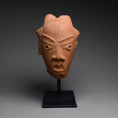 Guinea Coast, Nigeria, Nok region, 7th century BC-3rd century AD, 'Nok Terracotta Head of a Woman', 200 BC to 200 AD
