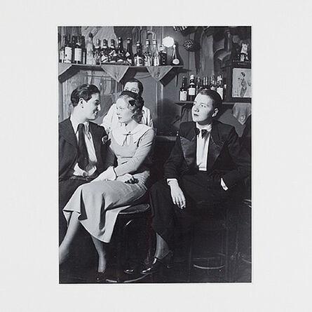 "Brassaï, 'At ""The Monocle""', 1932"