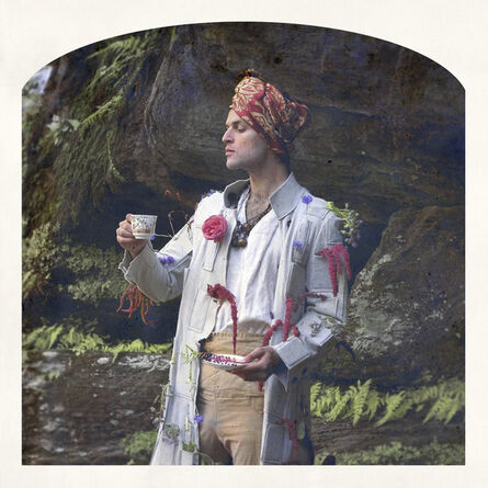 Kahn & Selesnick, 'Lord Byron, Love-Lies-Bleeding, Tea'