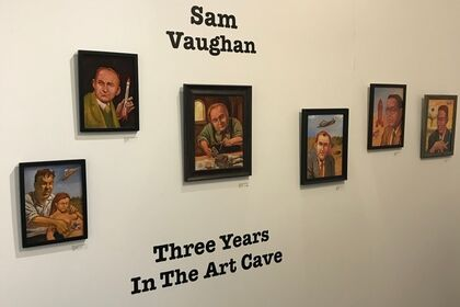 Three Years in the Art Cave: Recent Works by Sam Vaughan