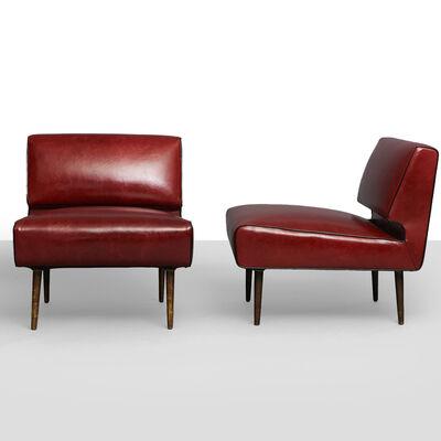 Edward Wormley, 'Edward Wormley Channel Back Chairs, Model No. 4827', 1950-1959