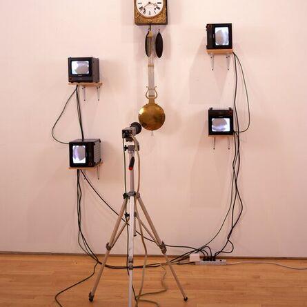 Nam June Paik, 'French Clock TV', 1989