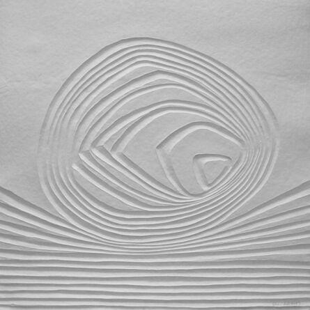 Bernard Alligand, 'Mémoire 1 - aquaprint on heavy handmade paper', 2017