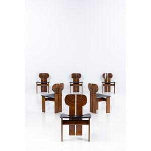 Afra & Tobia Scarpa, 'Artona; Set Of Six Chairs', Around 1975
