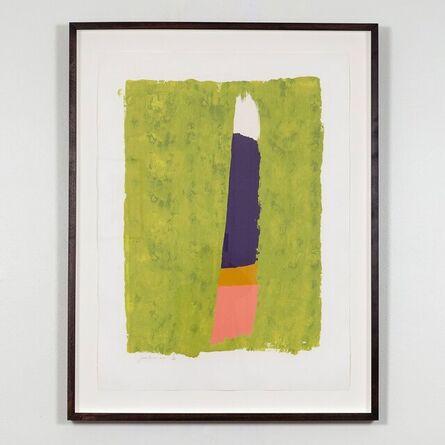 Jack Bush, 'Purple Thrust (Totems)', 1974