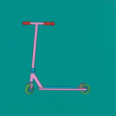Michael Craig-Martin, 'Untitled (scooter)', 2015