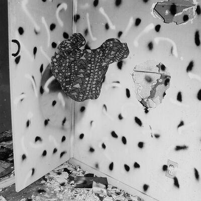 John Divola, 'Vandalism Series 74V02', 1973-1975