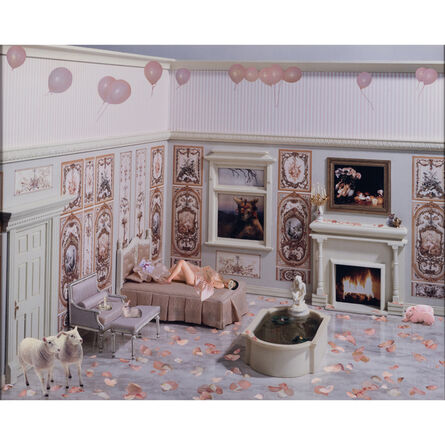 Marnie Weber, 'Pink Room', 2001