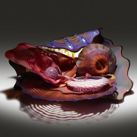 Dale Chihuly, 'Large Persian group', 1989