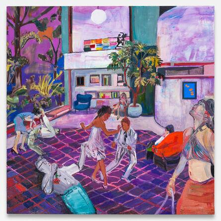 Elizabeth Huey, 'Night Fever with Acanthus', 2017