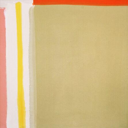 Kenneth Lochhead, 'Yellow Reach', 1964