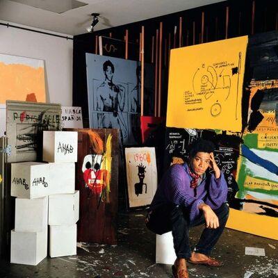 Jean-Michel Basquiat, 'Basquiat Exhibition Poster Gagosian Gallery', 2013