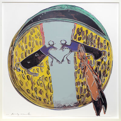 Andy Warhol, 'Plains Indian Shield', 1986
