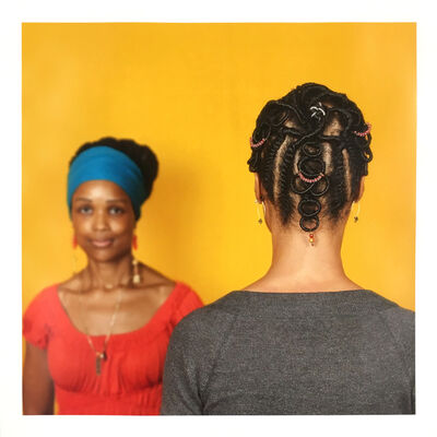Sonya Clark, 'Hair Craft Project with Ife', 2014