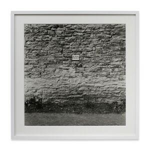 Keith Arnatt, 'The Absence of the Artist', 1968