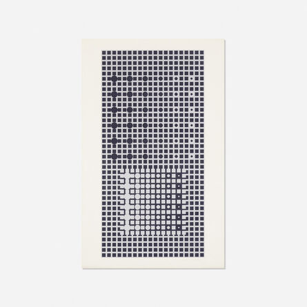 Victor Vasarely, 'Untitled (from the Constellations portfolio)', 1967