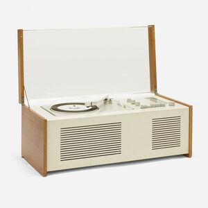 Dieter Rams, 'SK 5 Phonosuper radiogram with rare external Snow White speaker', 1958