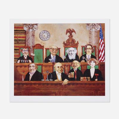 Charles Bragg, 'The Court Supreme', c. 1995