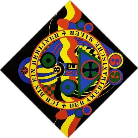 Robert Indiana, 'THE HARTLEY ELEGIES - KvF IX', 1991