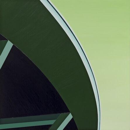 Cherie Benner Davis, 'Green Curve', 2017