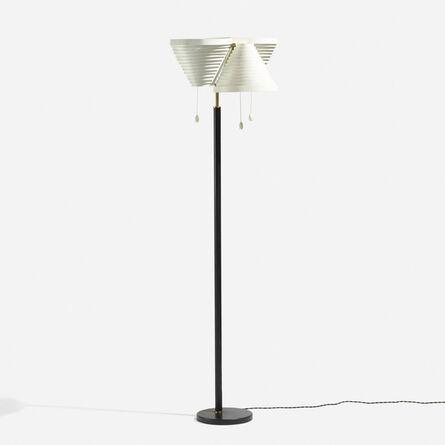 Alvar Aalto, 'Standard floor lamp, model A809', c. 1955
