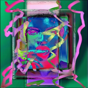Jens Christian Wittig, 'Framed Color Face V', 2019