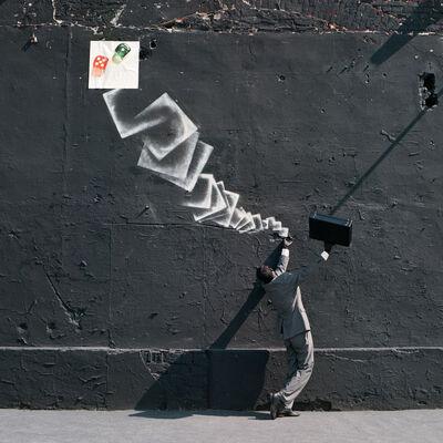Robin Rhode, '36 Ways a Dice can Roll / Dice', 2011