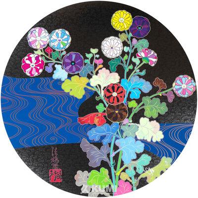 Takashi Murakami, 'Korin: Azure River', 2015