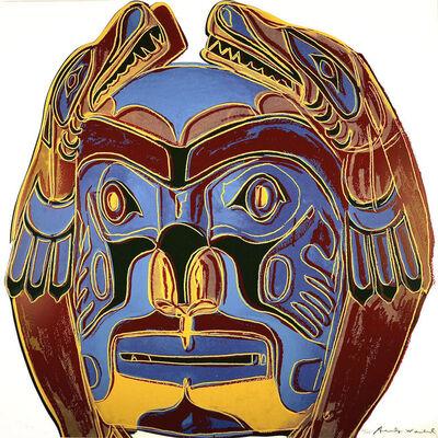 Andy Warhol, 'Northwest Coast Mask (FS II.380) ', 1986