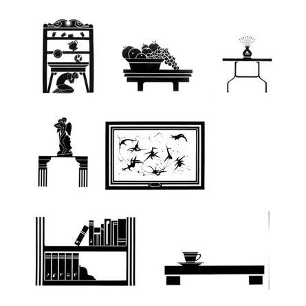Gabriel Chaile, 'Untitled (9 piece poliptych)', 2013