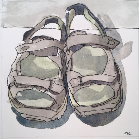 Mary Lawler, 'Sandals', 2017