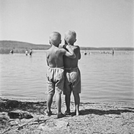 AHO & SOLDAN, 'Two Boys', Mid 1930´s