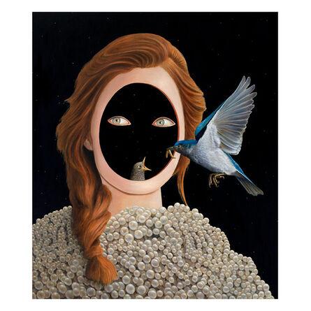 Sean Landers, 'Longhi Girl', 2016