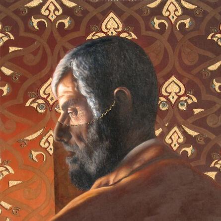 Abu Rumi, 'Portrait of the Artist's Father Under a Veil', 2008