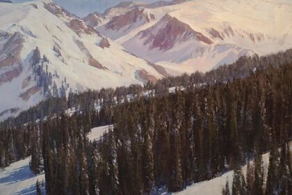 John Taft, Solo Exhibition, New Western Landscapes