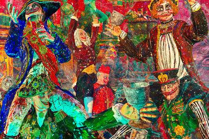 Federico Solmi: The Bacchanalian Ones