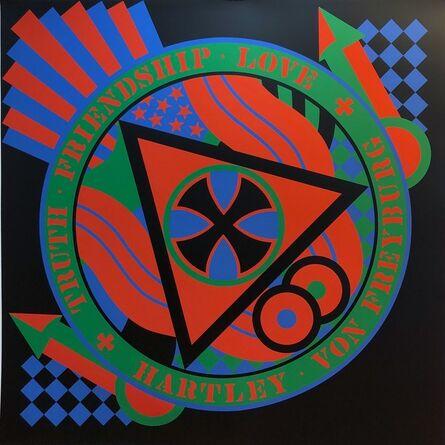 Robert Indiana, 'KvF VIII', 1991
