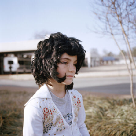 Clémentine Schneidermann, 'Little girl, Elvis Presley Boulevard, Memphis Tennessee', 2014