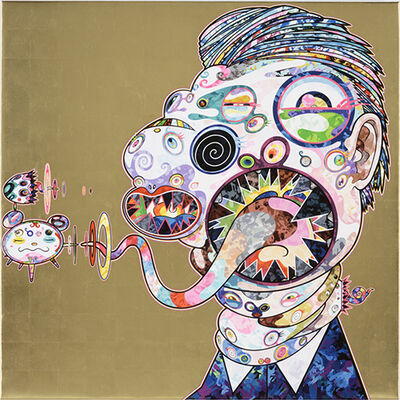 Takashi Murakami, 'Homage to Francis Bacon, Study for Head of George Dyer', 2016