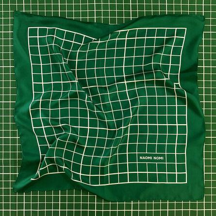 Naomi Mishkin, 'Green Cutting Mat Scarf', 2018